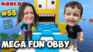 "Roblox - MEGA FUN OBBY ""O Desafio"" (Teil 2) [1750 STAGES] Familienspiele"
