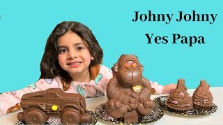 Johnny Johny Yes Papa Pretend Play with Healthy Food! Nursery Rhymes Song for children