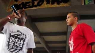Duelo de MCs Nacional 2013 - A Grande Final - Marinho (DF) vs Din (BH) (1ª Fase)