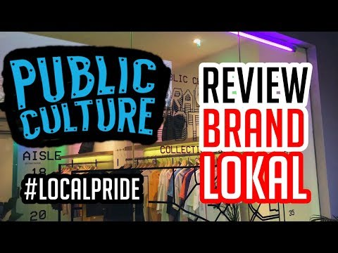 #LocalPride | Review Brand Lokal Public Culture Jakarta - Kemang, Jakarta Selatan
