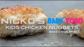 CHICKEN NUGGETS - Kids Recipe Thumbnail