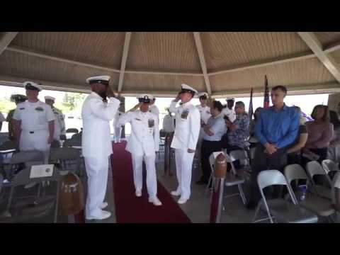Logistic Specialist Chief Nelson Palma Manio's Retirement Ceremony