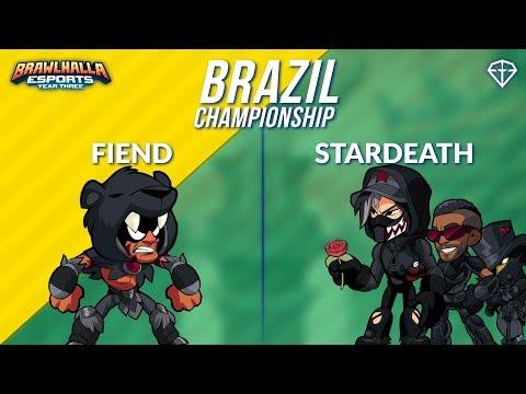 Fiend vs StarDeath - BRZ 1v1 Grand Finals - Brazil Championship