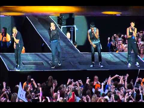JLS - Price Tag (Jessie J Cover) (live) FIRST EVER PERFORMANCE - Hull 10/06/11