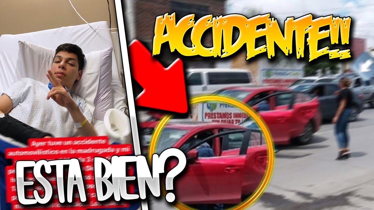 YAIR17 SUFRE un ACCIDENTE AUTOMOVILÍSTICO en su NUEVO COCHE!! *Está bien!?*