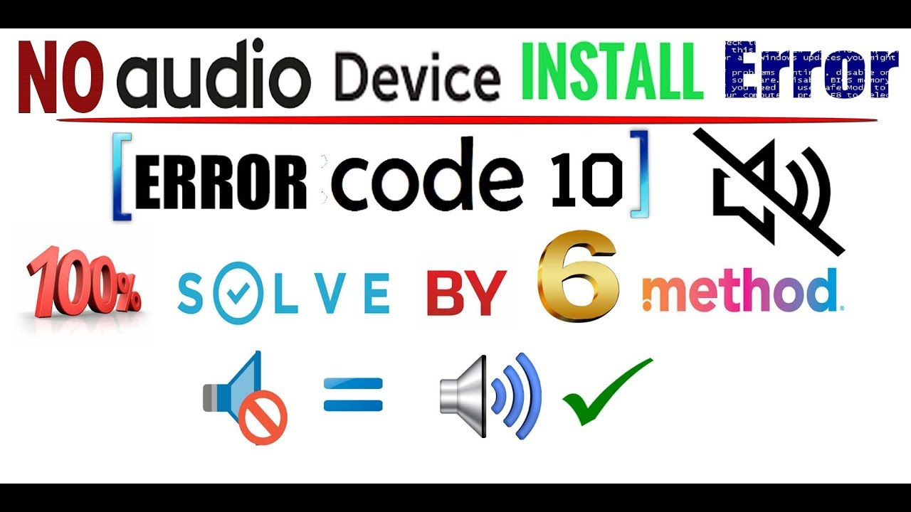 no audio device installed windows 7