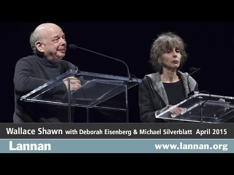 Wallace Shawn, Reading, 15 April 2015