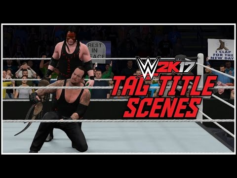 WWE 2K17 - TOP NOTCH TAG TITLE VICTORY SCENES! (PS4 & XBOX ONE) #WWE2K17
