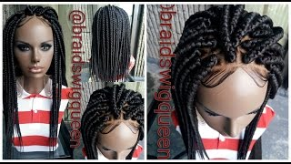 diy affordable box braid wig beginner friendly