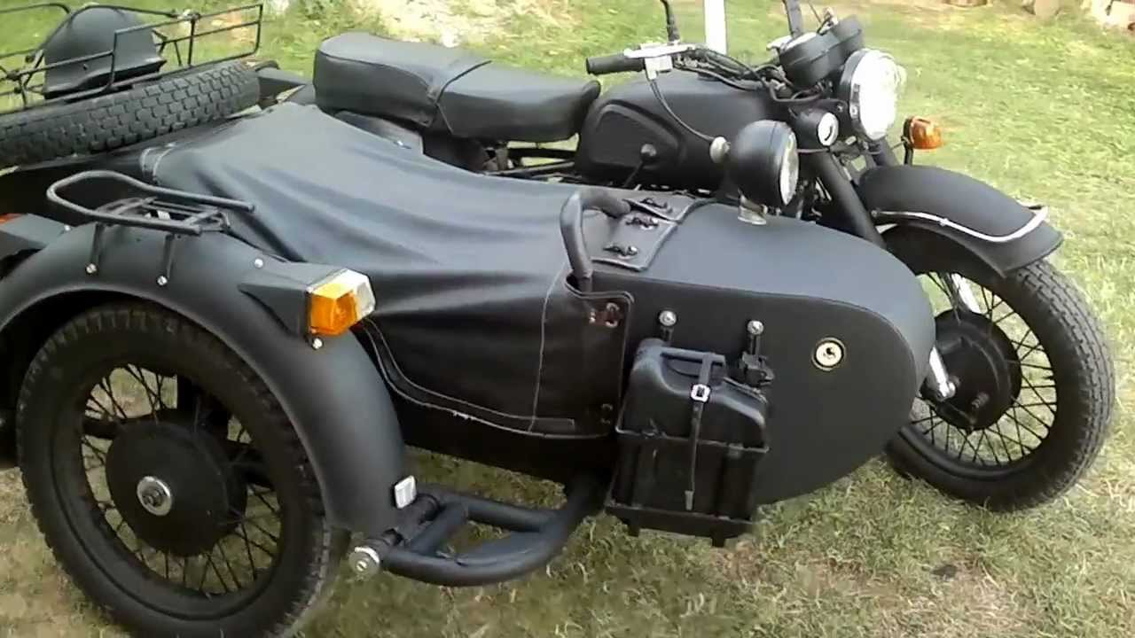 Dnepr mt 11 motorcycle 1994 with side car youtube for Where can i get a motor vehicle report