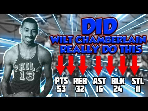 Did Wilt Chamberlain Record A Quintuple Double? The Mystert Of Wilt Chamberlain