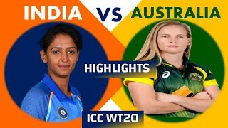 ICC Women's world cup T20 2018 IND vs AUS highlights 2018 || Mandhana 88