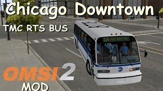 OMSI 2 - Chicago Downtown com Bus Americano! (+MOD Download)