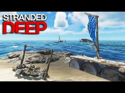 Stranded Deep | Survival Part 2 | WE NEEDED THE PROTEIN!