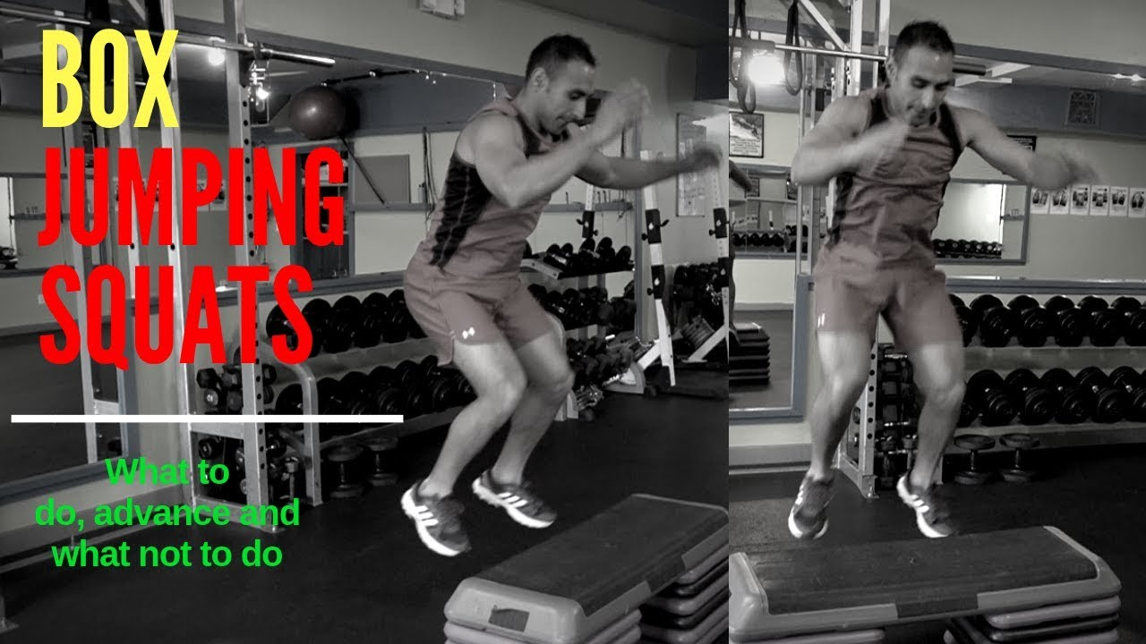 How To Do Box Jump Squats