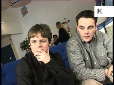 1990s Young Ant and Dec Interview