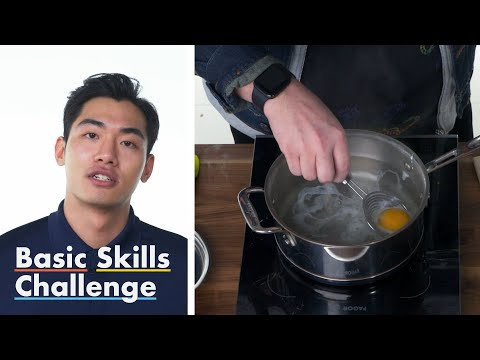 50 People Try to Poach an Egg | Epicurious