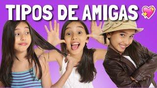 TIPOS DE AMIGAS/OS - Gibby :)