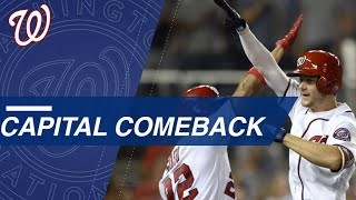 Nationals pull off historic rally against Marlins