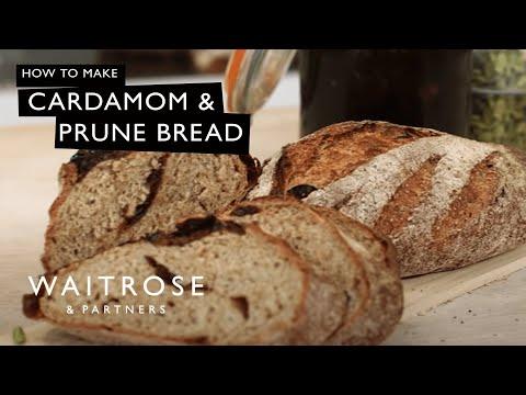 Richard Bertinet's Cardamom and Prune Bread | Waitrose