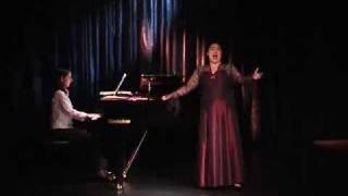 La Sonnambula, Bellini aria Ah non credea mirarti...Ah non giunge. Emma Lieder soprano