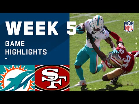 Dolphins vs. 49ers Week 5 Highlights | NFL 2020