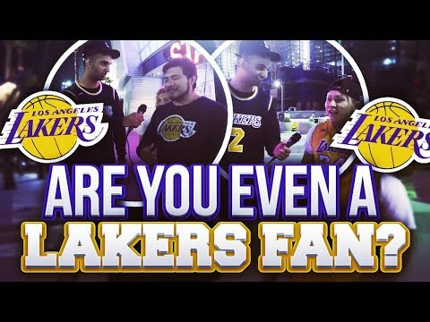 Are You Even a Fan: Los Angeles Lakers (LOYAL or BANDWAGONS)