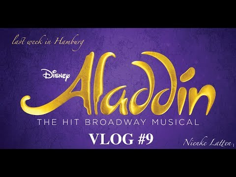 ALADDIN VLOG #9 Last Week In Hamburg! GOODBYE NEUE FLORA!