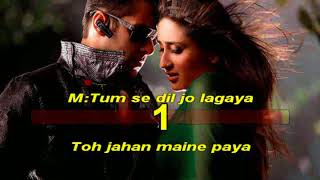 Teri meri prem kahani Bodyguard 2011 Hindi Karaoke from Hyderabad Karaoke Club