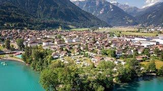 TCS Camping Böningen–Interlaken au bord du lac de Brienz