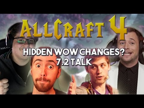 ALLCRAFT #4 ft. Sodapoppin, Asmongold,Hotted & Rich! HIDDEN WOW CHANGES? 7.2 ARTIFACT TALK