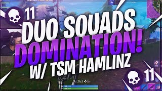 tsm myth duo squads domination with tsm hamlinz fortnite br full match