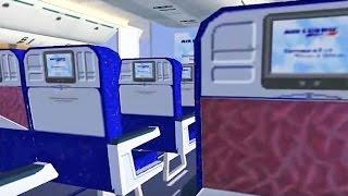 FSX Air France 777 Virtual Cabin - Departure from Paris!