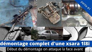 démontage compartiment moteur de la xsara #1