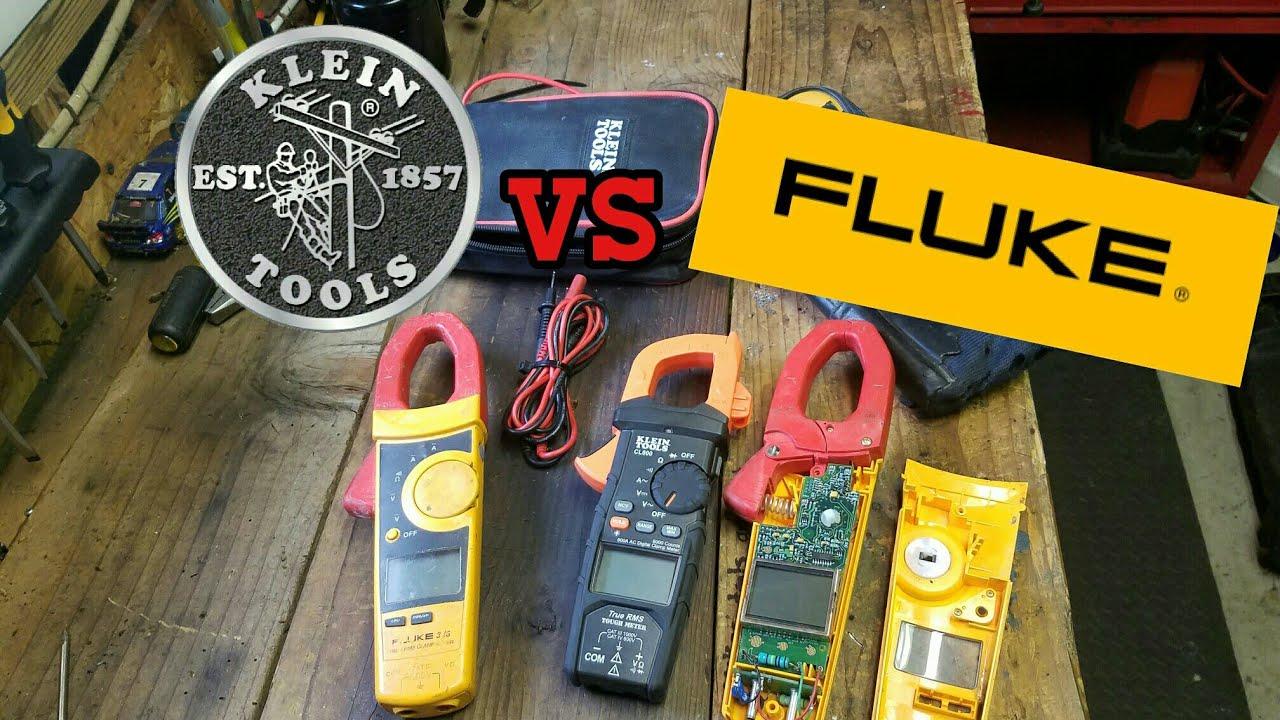Fluke 325 vs klein cl800