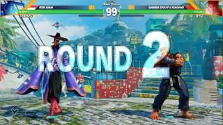 sfv rzr xian vs qanba douyu xiaohai final round 19 cpt 2016