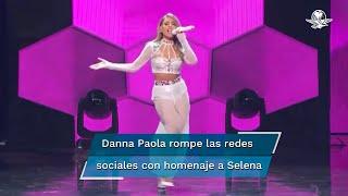Con un especial número musical, en los Premios Juventud recordaron los 25 años de la muerte de Selena Quintanilla