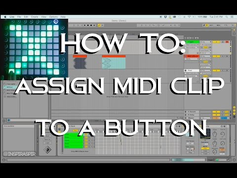 How To Assign A MIDI Light Effect To A Button (Launchpad Light Show Tutorial)