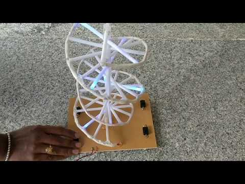DNA Model - with light's