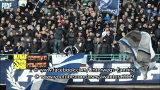 SSC Napoli-Legia Warszawa 2015/16 (Napoli Ultras Curva A,Curva B, Legia Sektor doping)