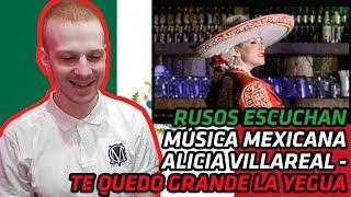RUSSIANS REACT TO MEXICAN MUSIC | Alicia Villareal - Te quedo grande la yegua | REACTION