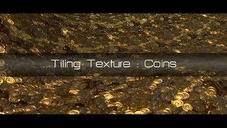 Tiling Texture Blender Tutorial : Coins