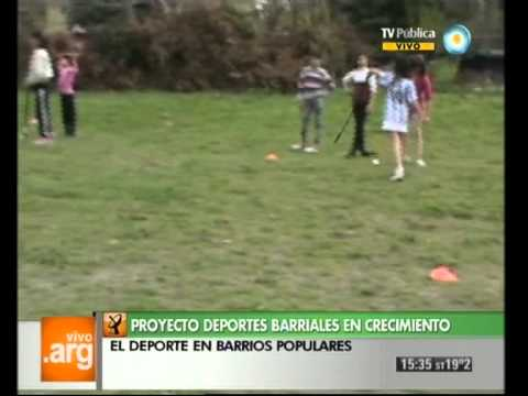 Vivo en Argentina - Buenos Aires - La Plata - Deportes barriales - 28-09-12