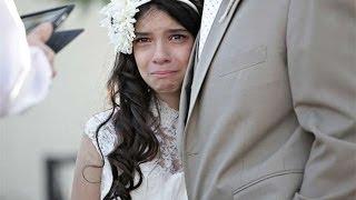 """Niña """"se casa"""" con 11 años en la boda ficticia mas emocionante del mundo Lloraras de emocion"""