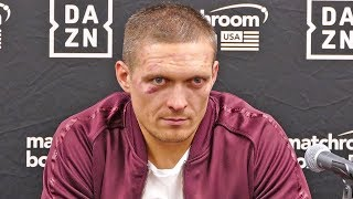 Oleksandr Usyk FULL POST FIGHT PRESS CONFERENCE vs. Chazz Witherspoon | Matchroom Boxing USA