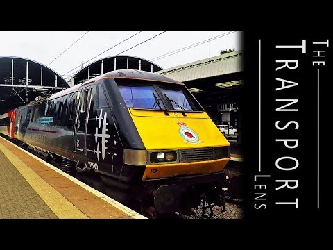 Trains at Newcastle Central Station June 2018 - Part 1