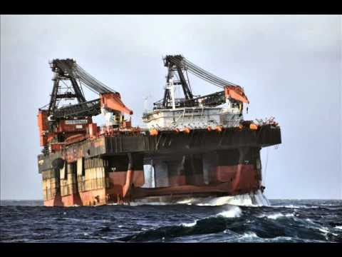 Offshore as seen from tug Retriever.wmv