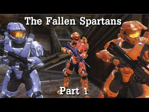 The Fallen Spartans Part 1 (Halo Machinima)