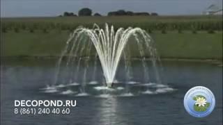 DecoPond.ru - Плавающие фонтаны-аэраторы