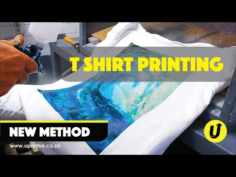 How To Print On T-Shirts | New T-shirt Printing Method | Extreme Durability